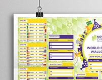 Now Careers - 2014 World Cup Wall Chart