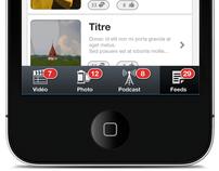 Mobile GUI Design