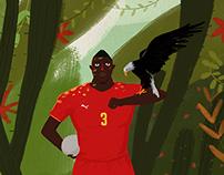 World Cup Football Star