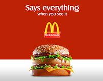 McDonald's iOS App Redesign