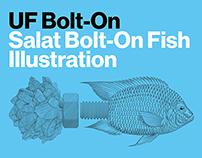 Salat Bolt-On Fish