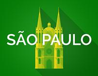 Brazil 2014 Host Cities - São Paulo