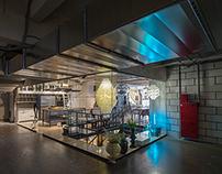 """Interior of furniture's shop """"Domus Area"""""""