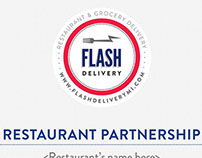 Flash Delivery PowerPoint Presentation