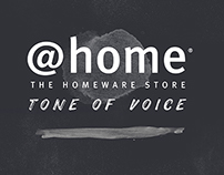 @HOME Tone of Voice Guide