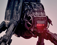 AT-AT Test Scene
