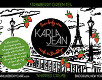 Packaging Design | Karla Jean Luxe Body Care