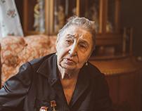 Widow of Marshal Katukova