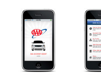 AAA Accident Assist iPhone App