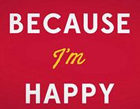 Kinetic Typography - Happy - Pharrell Williams