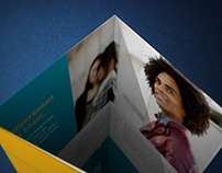 NT Photorealistic Tri-Fold Brochure Mockup - V02