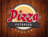 Pizzafutárság | Identity for a Pizza Delivery