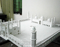 Badshahi Mosque Model