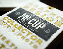 Mr Cup 2014 business cards