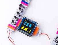 LittleBits OLED graphic visualizer
