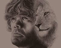 A 'Game of Thrones' Portrait Series