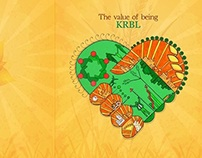 KRBL Annual Report 2013-14 cover design