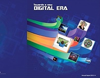Hathway Annual report cover design