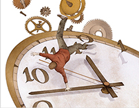 Cover illustration for The Rate of Clockwise