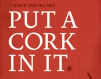 AIGA San Francisco Fall Gala: Put a Cork in It