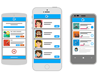 Ganiza - Landing Page  and Android App
