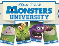 Monsters University Retail Set
