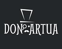 Don Artua Logo And Identity
