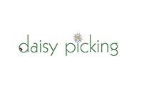 Logo design for craft brand daisy picking