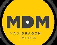 Mad Dragon Records Branding