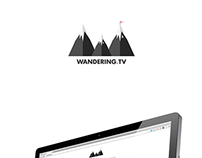 Wandering.Tv — Branding and Website { New }