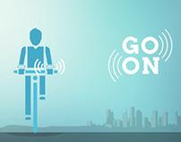 Go on - bracelets GPS vibrants