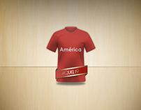 América de Cali Soccer Jersey