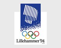 Winter Olympics Lillehammer '94 (Visual Identity)