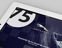 Jaguar South Africa - Tablet Screens