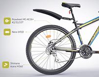 FORWARD Quadro 2.0 bicycle / 3D Video