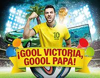 C.C. Victoria - Campaña Mundial