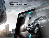 Kia - Sportage Microsite
