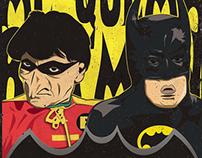 Ilustración Batman y Robin - JB