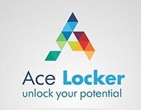 """Logo design for """"Ace Locker"""""""