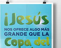 Jesús nos ofrece algo más grande que la Copa del Mundo