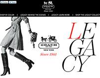 Coach-Legacy Campaign Site