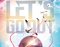 Let's go Out Flyer/Poster