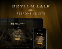Devil's Lair Responsive Website Design