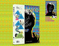 "BranD MAGAZINE issue 2014C ""LIVE PLAY CREATE"""