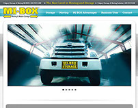 MIBOX Moving and Storage Website