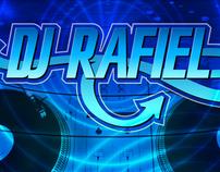 DJ Rafiel logo and identity