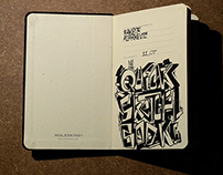 The quick Sketchbook