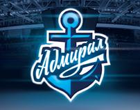 Admiral Vladivostok hockey club. Brand book