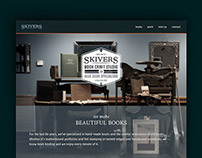 Skivers Website and Logo