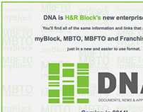 Ad for H&R Block's Employee Web Portal